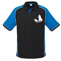 Rodeo Mens Polo Shirt