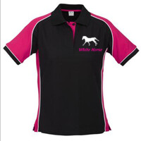 White Horse Polo Shirt